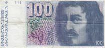 Switzerland 100 Francs Francesco Borromini - 1975 - VF - P.57a