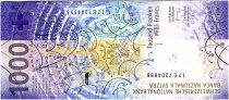 Switzerland 1000 Francs - 2019 Hybrid UNC