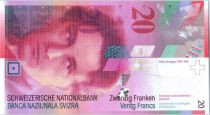 Switzerland 20 Francs - Arthur Honegger -  2005