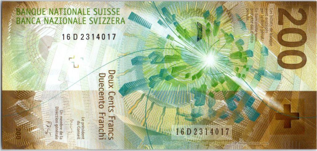 2016 SWITZERLAND 200 FRANCS 2018 P-NEW !!!AVAILABLE!! UNC