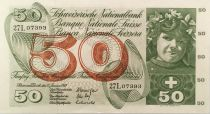 Switzerland 50 Francs - Apple Harvesting Scene - 15/01/1969 - XF+