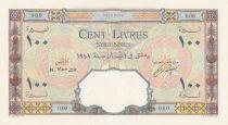 Syrian Arab Republic 100 Pounds 1947 - Banque de Syrie et du Liban - Specimen - P.61s