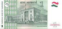 Tadjikistan 1 Somoni M. Tursunzoda - Banque