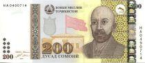 Tadjikistan 200 Somoni Homme