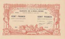 Tahiti 100 Francs 1905 avec Décrets - Epreuve recto - P.Neuf
