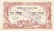 Tahiti 100 Francs 1920 - Annulé - SUP +
