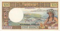 Tahiti 100 Francs Tahitienne - ND (1973) - Série T.2