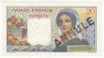 Tahiti 20 Francs Jeune Berger - ND (1954) - Spécimen sur coursable Série U.28 - SPL