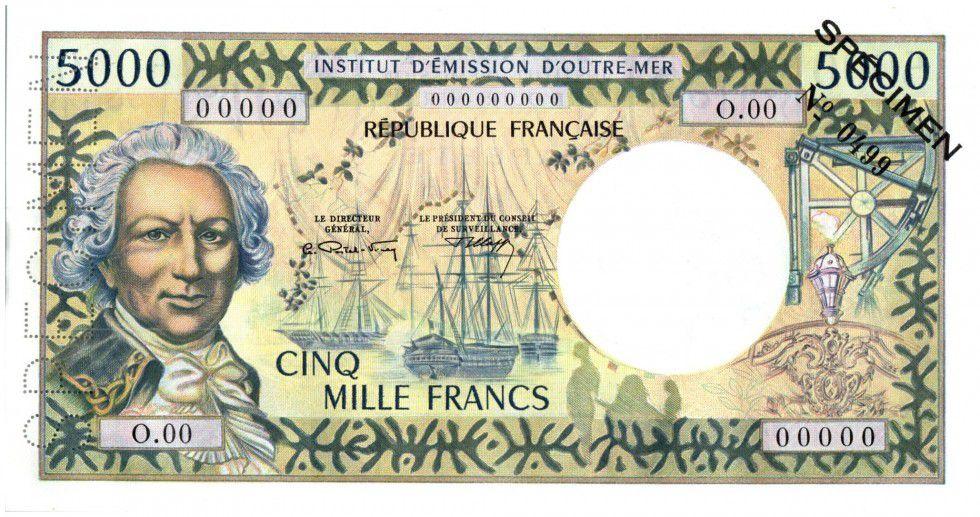 billet de banque outre mer