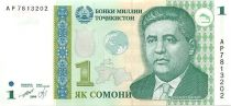 Tajikistan 1 Somoni M. Tursunzoda - National Bank