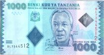 Tanzania 1000 Schillingi Julius Nyerere - 2010