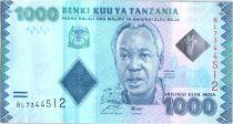 Tanzanie 1000 Schillingi Julius Nyerere - 2010