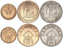 Tatarstan Set of 3 coins - 1 Kilo, 10 and 20 litres 1993