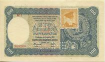Tchécoslovaquie 100 Korun Prince Pribina - Timbre - 1945