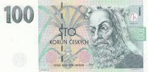 Tchèque République 100 Korun Roi Karel IV - Sceau -1997