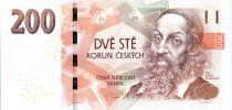 Tchèque République 200 Korun Jan Amos Komensky - 2018