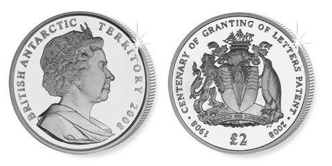 Territoire Britannique d´Outre-mer 2 Pounds, BOT.001
