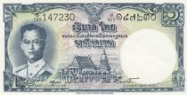 Thailand 1 Baht Rama IX - 1955 - P.74d - aAU