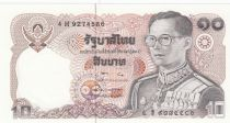 Thailand 10 Baht, Rama IX - 1980 - Sign. 57 - UNC