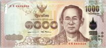 Thailand 1000 Baht, Rama IX - 2017 (2018)