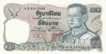 Thailand 20 Baht Rama IX - 1981 - Sign. 74 - P.88 - XF