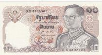 Thaïlande 10 Baht, Rama IX - 1980 Sign. 60 - Neuf