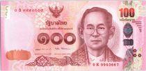 Thaïlande 100 Baht, Rama IX - 2017 (2018)