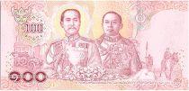 Thaïlande 100 Baht 2018 - Rama X au verso Rama V et VI - 2019 - Sign. 17 - Neuf - P.137