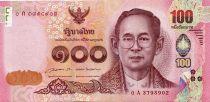 Thaïlande 100 Baht Rama IX - 2015
