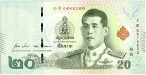Thaïlande 20 Baht  Rama X - Rama I et II - 2019 - Sign. 17 - NEUF - P.135