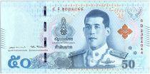 Thaïlande 50 Baht Rama X, au verso Rama III et IV - 2018 - Sign. 17 - Neuf - P.136