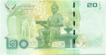 Thaïlande New1.2013 20 Baht, Rama IX