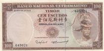 Timor 100 Escudos 1963 - Régulo D. Aleixo
