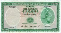 Timor 1000 Escudos Régulo D. Aleixo - 1968