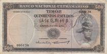 Timor 500 Escudos Régulo D. Aleixo - 1963 - P.29a TTB