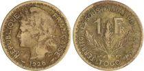 Togo 1 Franc Territoire sous Mandat - Patey - 1926