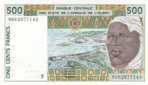 Togo 500 Francs homme 1996 - Togo