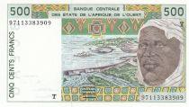 Togo 500 Francs homme 1997 - Togo