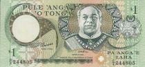 Tonga 1 Pa Anga - Roi Taufa \'Ahau - Mer - Palmiers - 1995