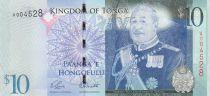 Tonga 10 Pa Anga - Roi Tupou V - 2008 - 2014