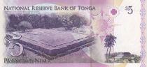 Tonga 5 Pa Anga - Roi Tupou V - 2008 - Neuf - P.37