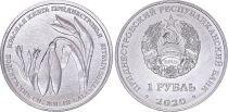 Transnestria 1 Ruble -  Galanthus flower - 2020 - AU