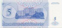 Transnestria 5 Rublei A. V. Suvurov