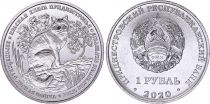 Transnistrie 1 Rouble -  Chat d\'Europe - 2020 - SPL