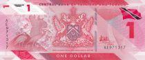 Trinidad and Tobago 1 Dollar Bird - Polymer - 2020 (2021) - UNC