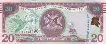 Trinidad and Tobago 20 Dollars Bird- Building - 2006 (2017)  - UNC
