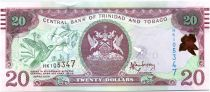 Trinidad and Tobago 20 Dollars Birds - Bdlg, market - 2015