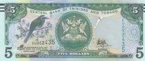 Trinidad and Tobago 5 Dollars Bird- Building - 2006 (2017)  - UNC