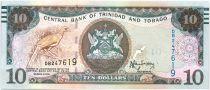 Trinidad e Tobago 10 Dollars Bird - Harbor - 2015