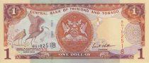 Trinidad et Tobago 1 Dollar Oiseaux - Armoiries 2002